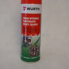 Smar wysokotemperaturowy CU-800 Wurth 0893800 300ml